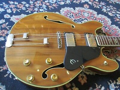 Rare 1970's Epiphone EA225 Casino Walnut Semi, Made in Japan