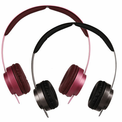 M6 3.5mm Stereo Music Headset detachable Headphone for PC MP3 Iphone Samsung