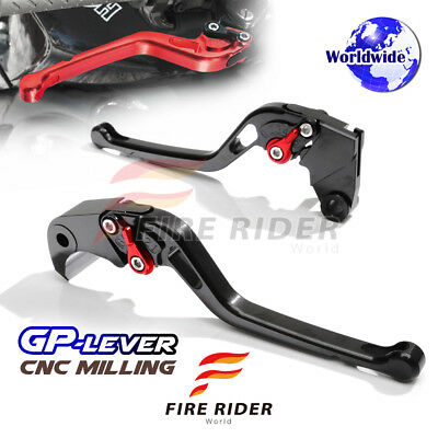For Yamaha TMAX500 01-07 03 04 05 06 LBR CNC GP Long Front Rear Brake Levers Set