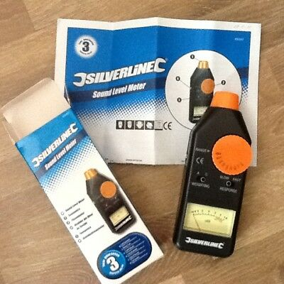 Silverline sound level meter