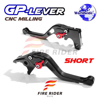 For Yamaha TMAX 530 XP500 15 16 SBR CNC GP Short Front Rear Brake Levers Set