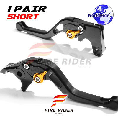 For Yamaha TMAX 500 08 09 10 11 12 SBG CNC GP Short Front Rear Brake Levers Set