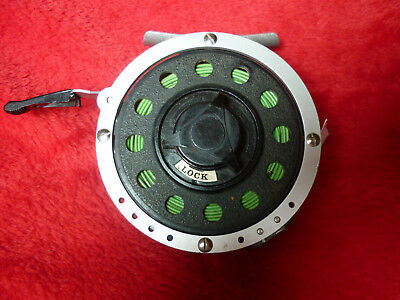Ancien moulinet mouche automatique MITCHELL 710 VERTICAL automatic  fly reel