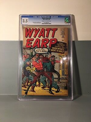 Wyatt Earp Issue 29 - CGC Graded 3.5 (comic book)