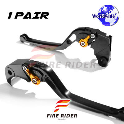 For Yamaha TMAX 500 08 09 10 11 12 LBG CNC GP Long Front Rear Brake Levers Set