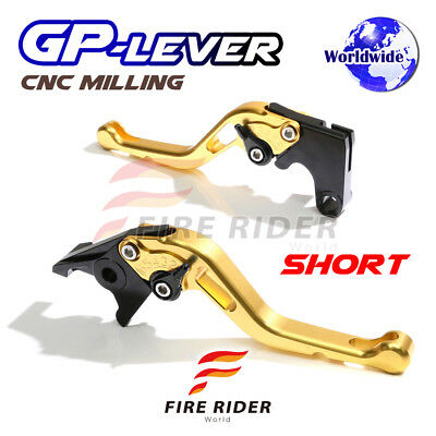 For Yamaha TMAX 530 XP500 15 16 SGB CNC GP Short Front Rear Brake Levers Set