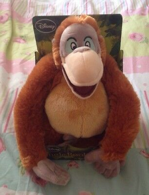 KING LOUIE SOFT TOY.  DISNEY. The JUNGLE BOOK.  New In Box.