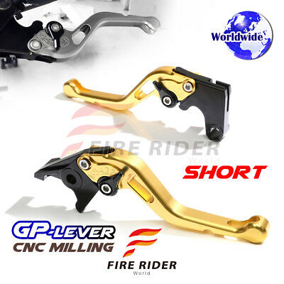 For Yamaha TMAX 530 SX DX 17 SGB CNC GP Black Short Front Rear Brake Levers Set