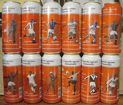 12 Can Hungarian Soccer Set..