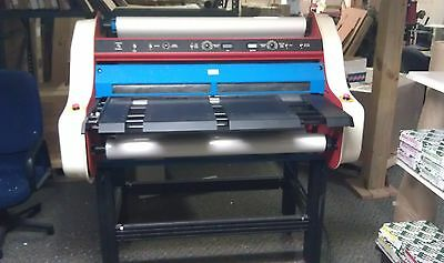 "40"" Laminator  made by American Banner can also do mounting to foamboard"