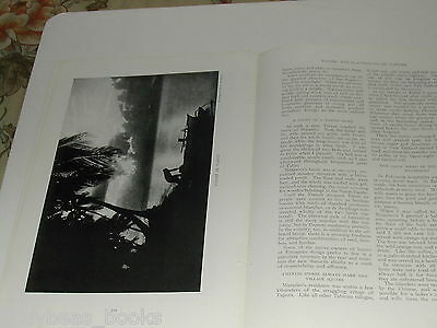 1920 magazine article about TAHITI, South Pacific, Nature, natives