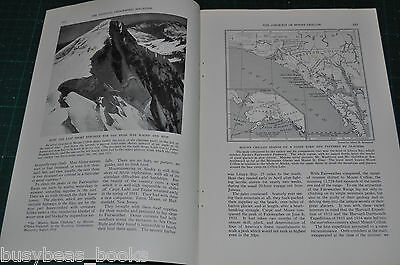 1935 magazine article, MOUNT CRILLON ALASKA Mountain Climbing expedition