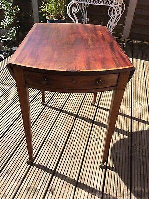 Georgian Drop Leaf Occasional Table
