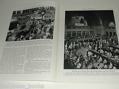 1943 magazine articles on Washington DC during WWII color photos