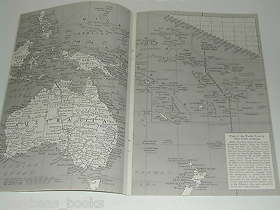 1942 magazine articles x2 Australasia islands South Pacific WWII