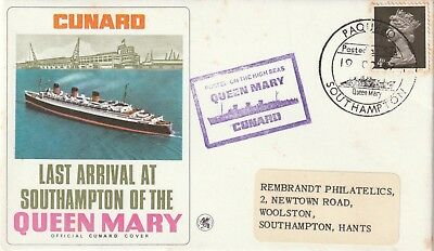 Last Arrival At Southampton Of Queen Mary Ship 1967, x 2.