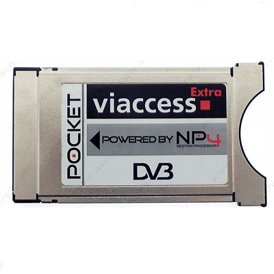 Genuine Neotion VIACCESS Extra CAM CI module NP4 MPEG4 MPEG2