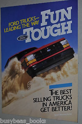 1989 Ford Pickup Truck advertising section, 16 page F series Ranger Bronco etc
