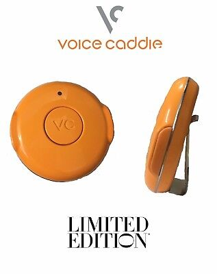 Voice Caddie VC 100 Golf GPS 30,000 Pre Loaded Courses Limited Edition Orange