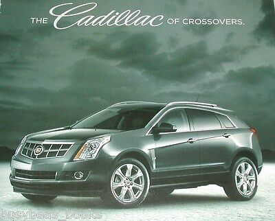 2010 Cadillac advertisement page, Cadillac SRX Crossover, Canadian ad