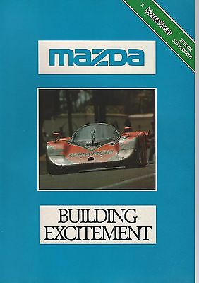 1990 MAZDA MX-5 8-page advertisement, British advert, MX5 and others