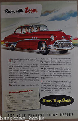 1951 BUICK advertisement, Buick Special, color art