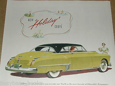 1950 Oldsmobile advertisement, Oldsmobile Holiday Coupé, Olds Coupe