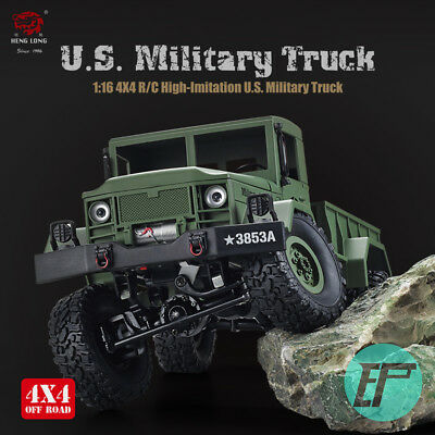 HengLong 1/16 USA Military RC Truck RTR TOY Grade