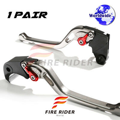 For Yamaha Majesty YP 400 04-08 07 LTR CNC GP Long Front Rear Brake Levers Set