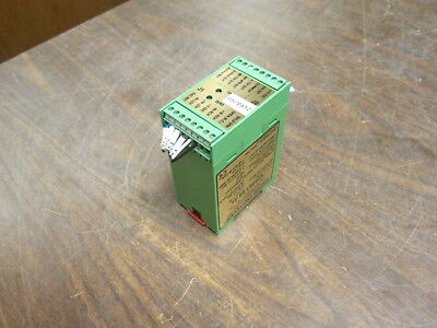 Cleveland-Kidder Ultra Line Load Cell Amplifier MWI-13261 24VDC 0.18A Used