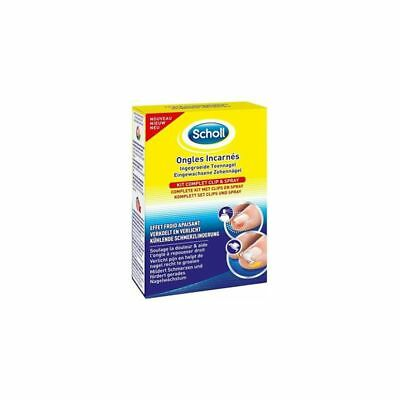 Scholl Kit Complet Ongles Incarnés