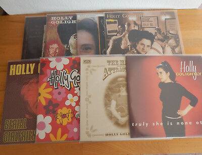 HOLLY GOLIGHTLY - 8x Vinyl LOT Billy Childish Thee Headcoatees UK GARAGE BEAT