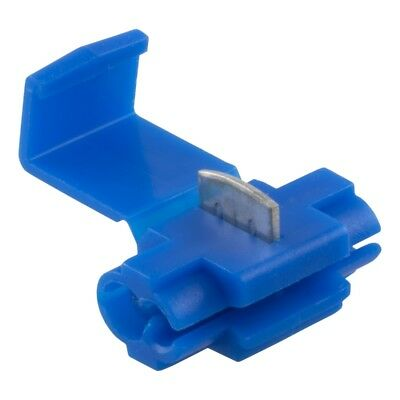 Boltstore Scotch Lock Electrical Wire Connector/Crimp Terminal Quick Splice Blue