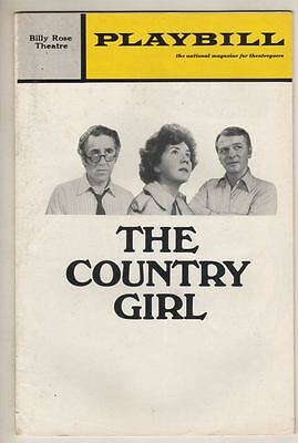 "Jason Robards & Maureen Stapleton  ""The Country Girl""  Playbill  1972  Revival"