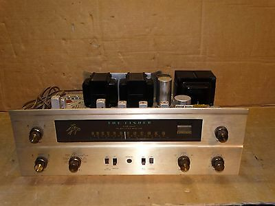 Vintage Fisher 400 Fm Stereo Tube Receiver 12ax7-7868 *Parts/Repair*