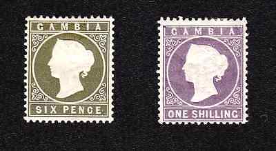 Gambia 1886