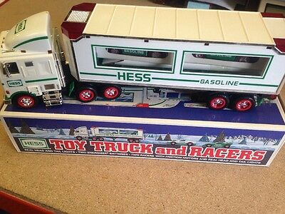 Hess Toy Truck And Racers 1997 Model