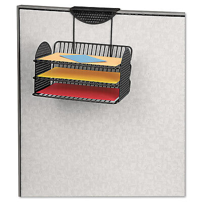 Fellowes Perf-Ect Partition Additions Three-Tray Organizer, 12 1/8 X 12 3/8,