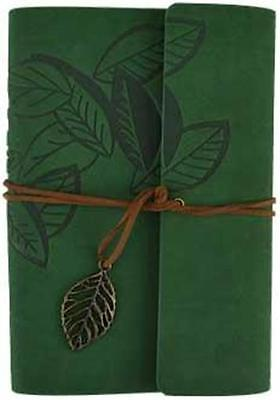 "Soft Green Suede ""Leaf"" Book of Shadows, Journal, Diary!"
