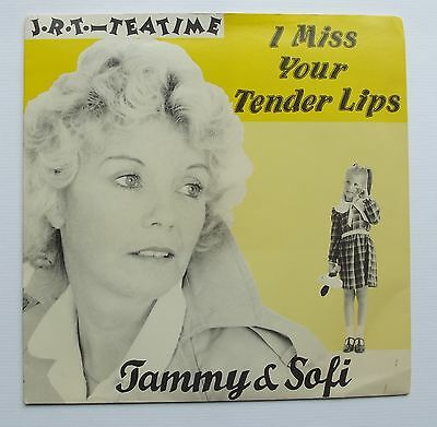 TAMMY AND SOFI - I MISS YOUR TENDER LIPS [Vinyl 7 Inch radio show] tea time JRT