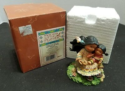 Enesco Friends of the Feather 2001 Walk First, Then Fly Figurine