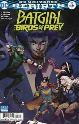 Dc Rebirth - Batgirl And The Birds Of Prey #10 - Variant Cover First Print