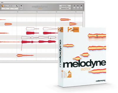 Melodyne 4 Editor Vocal Processing Software