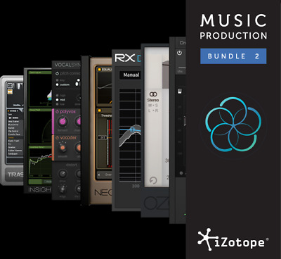 iZotope Music Production Bundle 2 Plugins
