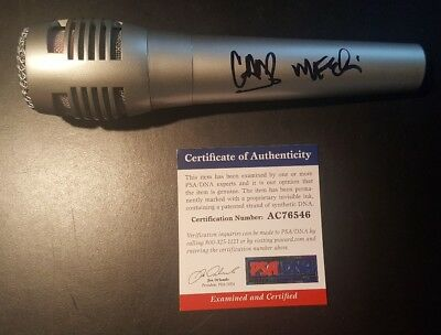 Linkin Park Chester Bennington Mike Shinoda Signed Autographed Microphone PSADNA