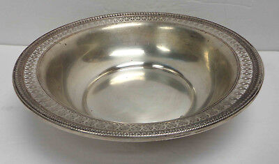 "Watson Sterling Silver B709 9-1/2"" Serving Dish! Weighs 280 Grams!"