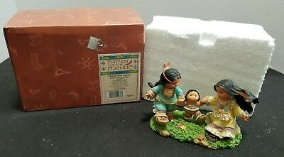 Enesco Friends of the Feather 2001 Cherish Family Support Figurine