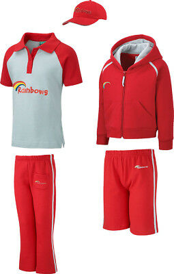 Official Rainbows Rainbow Guide School Uniform Polo-Trouser-Cap-Top Separately