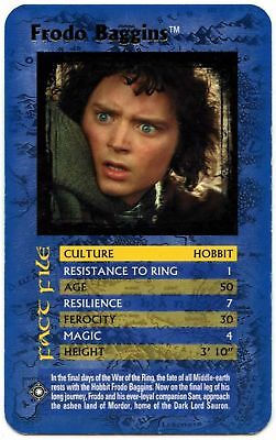 Frodo Baggins - Lord Of The Rings The Return Of The King Top Trumps Card (C448)