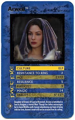 Arwen - The Lord Of The Rings The Return Of The King Top Trumps Card (C448)
